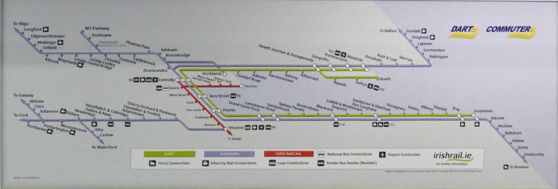 Car Park Heuston Station Map