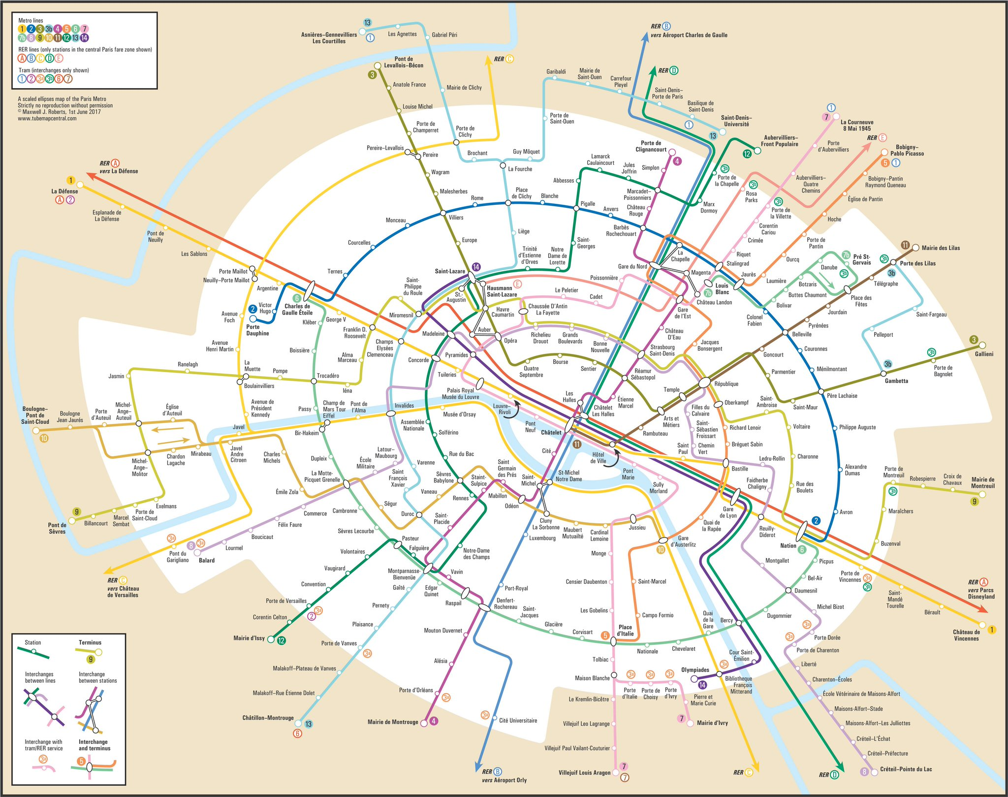 Metro Map Paris Pdf