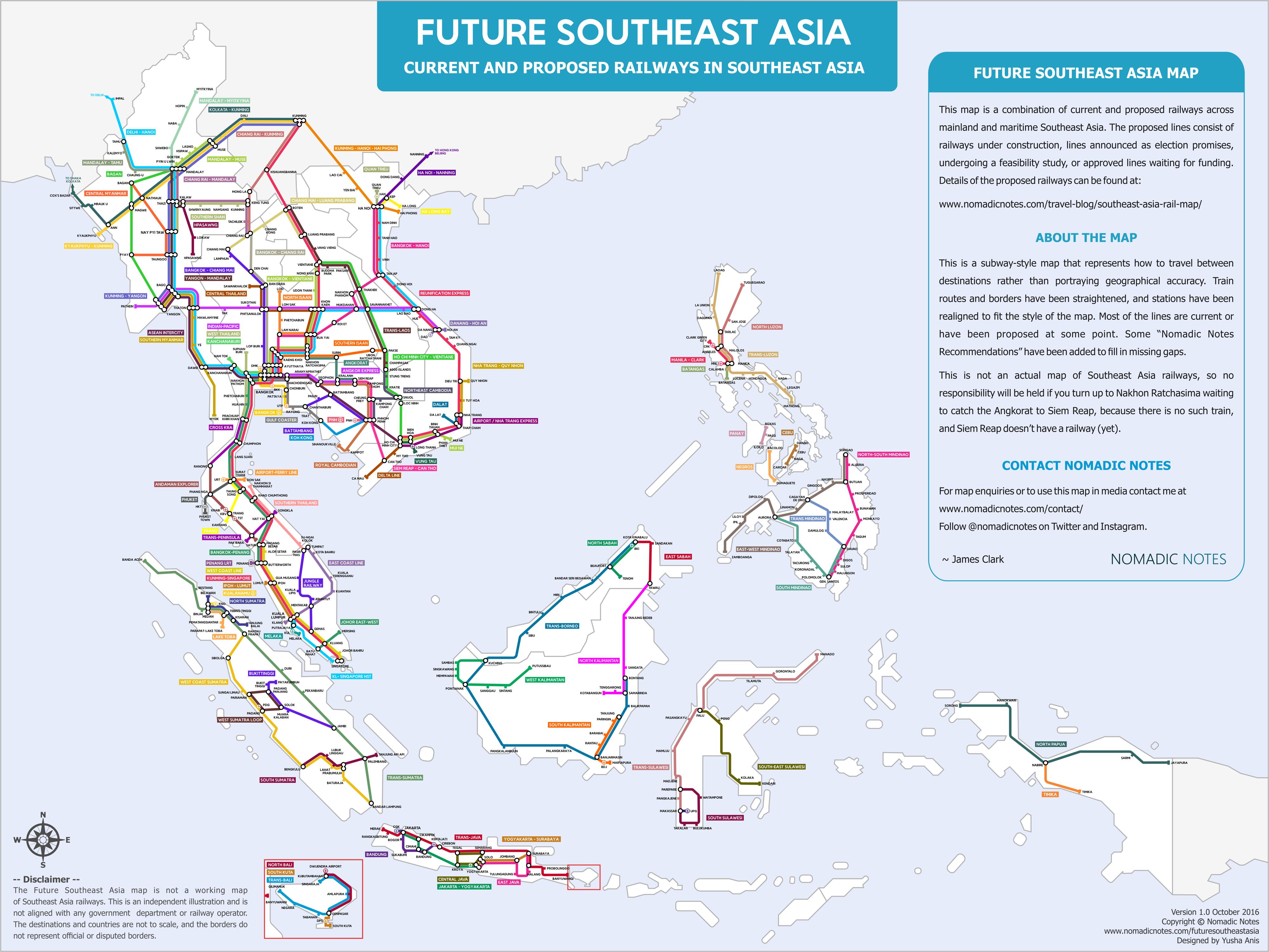 Asia train rail maps future southeast asia train rail map publicscrutiny Choice Image