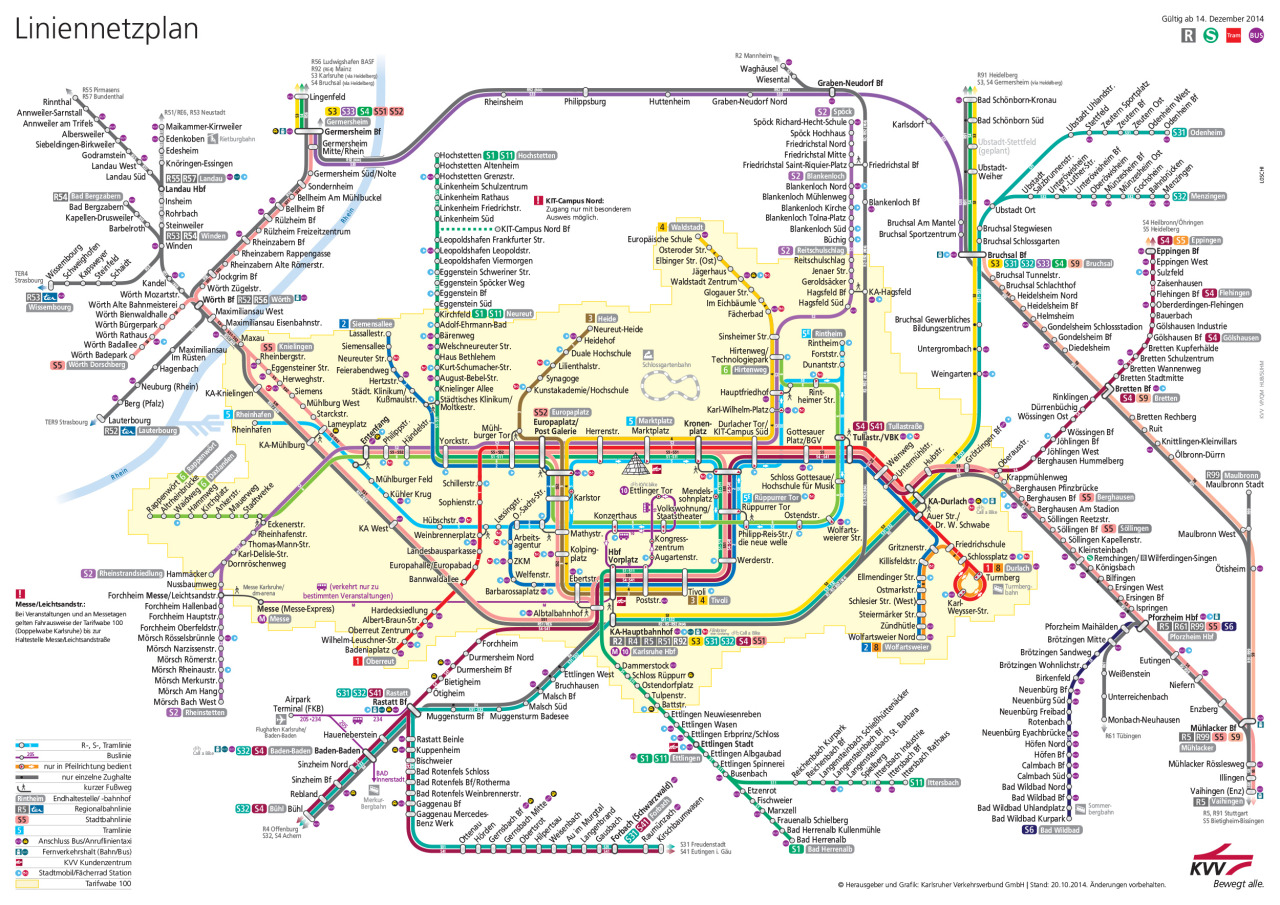 karlsruhe metro map