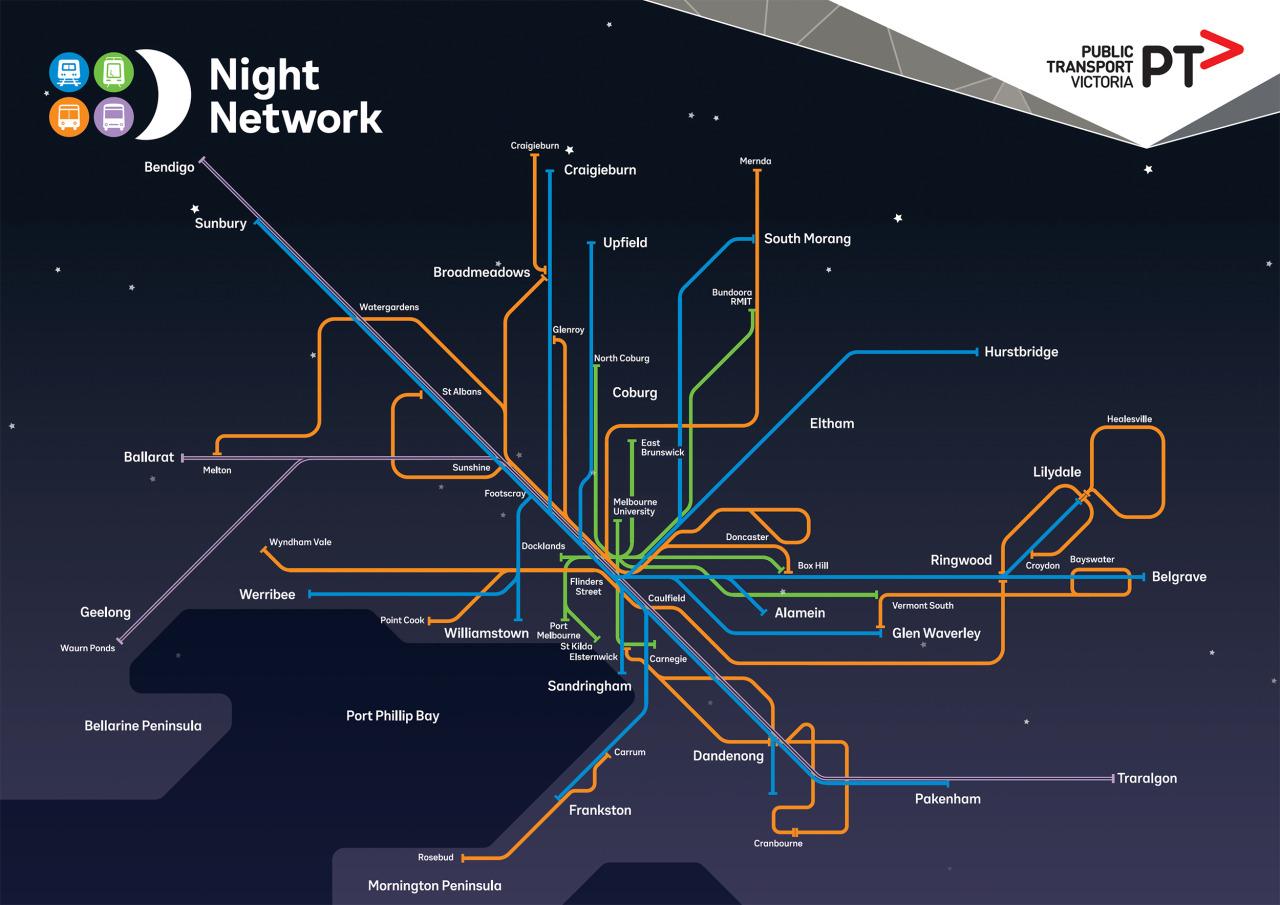 Melbourne Australia Train Map.Australia New Zealand Train Rail Maps