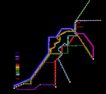 Africa train / rail maps