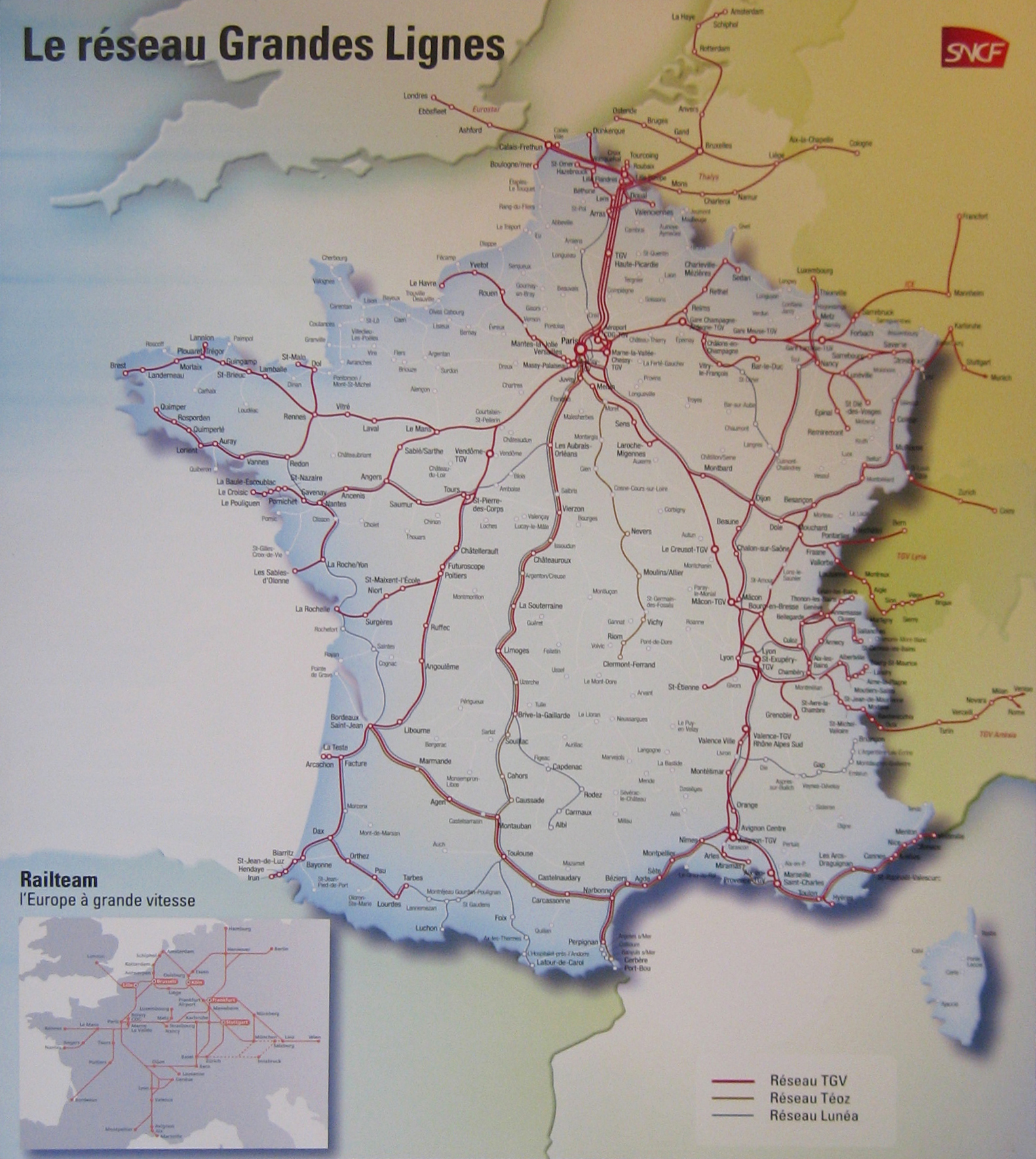 railteam sncf train rail european network map