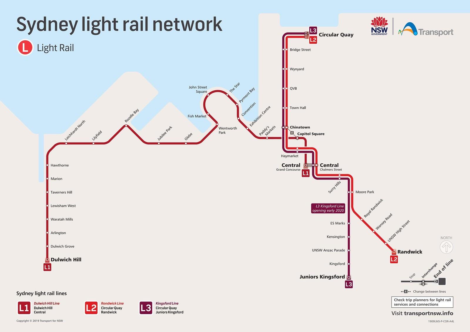 Australia & New Zealand train rail maps