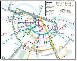 Giethoorn Karte.Holland Dutch Train Rail Maps