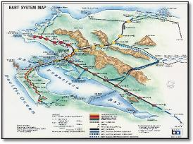 Nyc Subway Map 1989.Usa New York San Fransisco Train Rail Maps