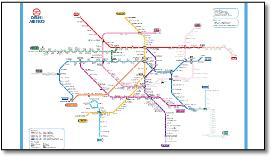 India train rail maps