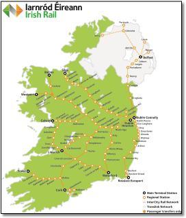Map Of Ireland In Irish.Ireland