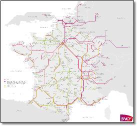 Map Of Uk France.France Paris Train Rail Maps