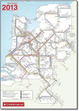 kaart ns stations nederland