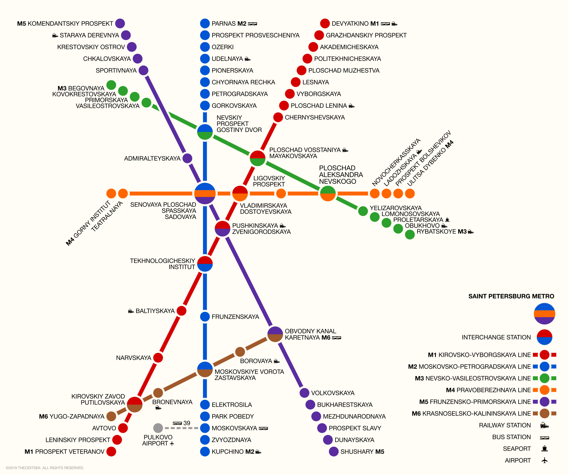 Saint Petersburg Russia Subway Map.Russia Moscow Rail Train Maps