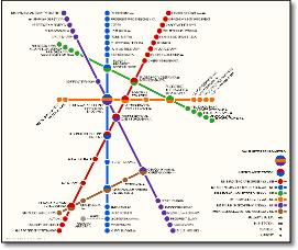St Petersburg Russian Subway Map.Russia Moscow Rail Train Maps