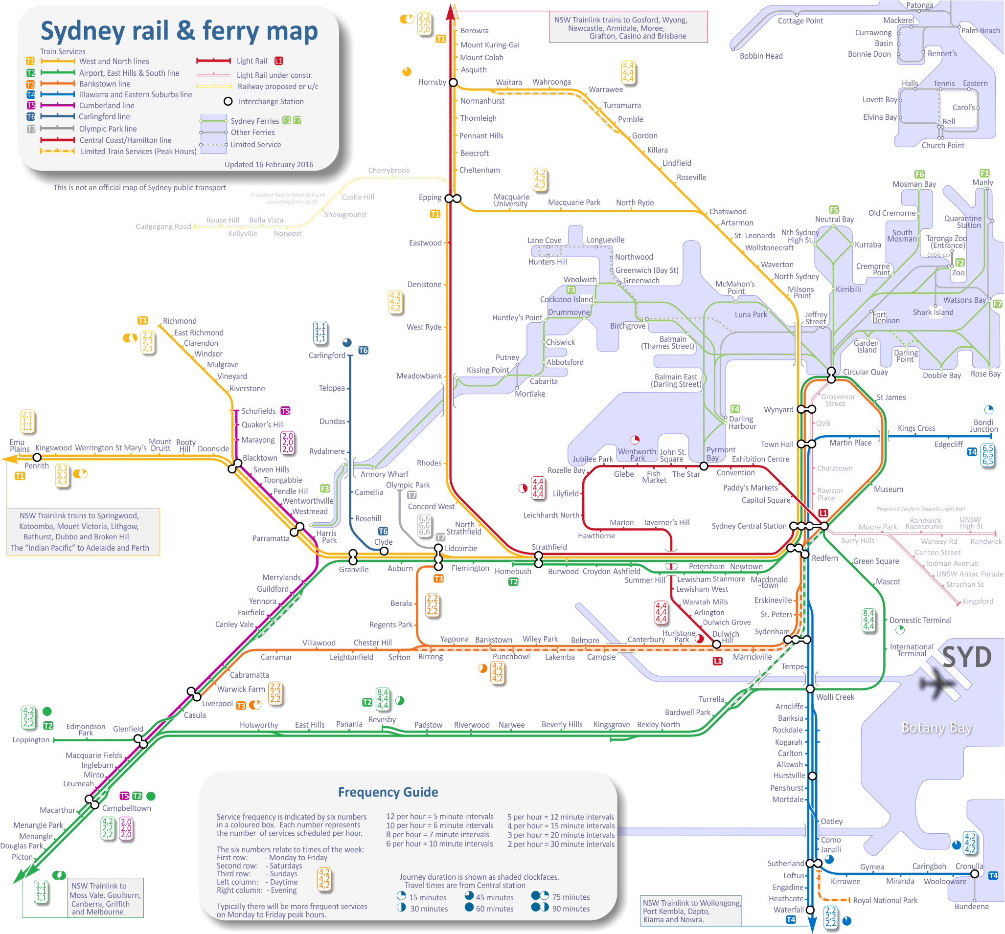 Sydney cbd train station map. 🏷️ Transport NSW Sydney ...