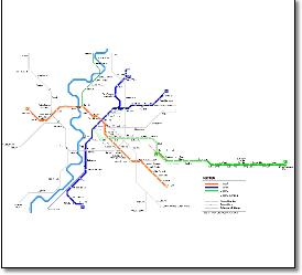 Italy Train Rail Maps