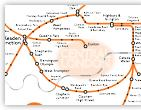 London Overground train rail map