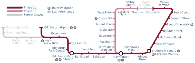 Edinburgh Tram Tie Transport In Edinburgh