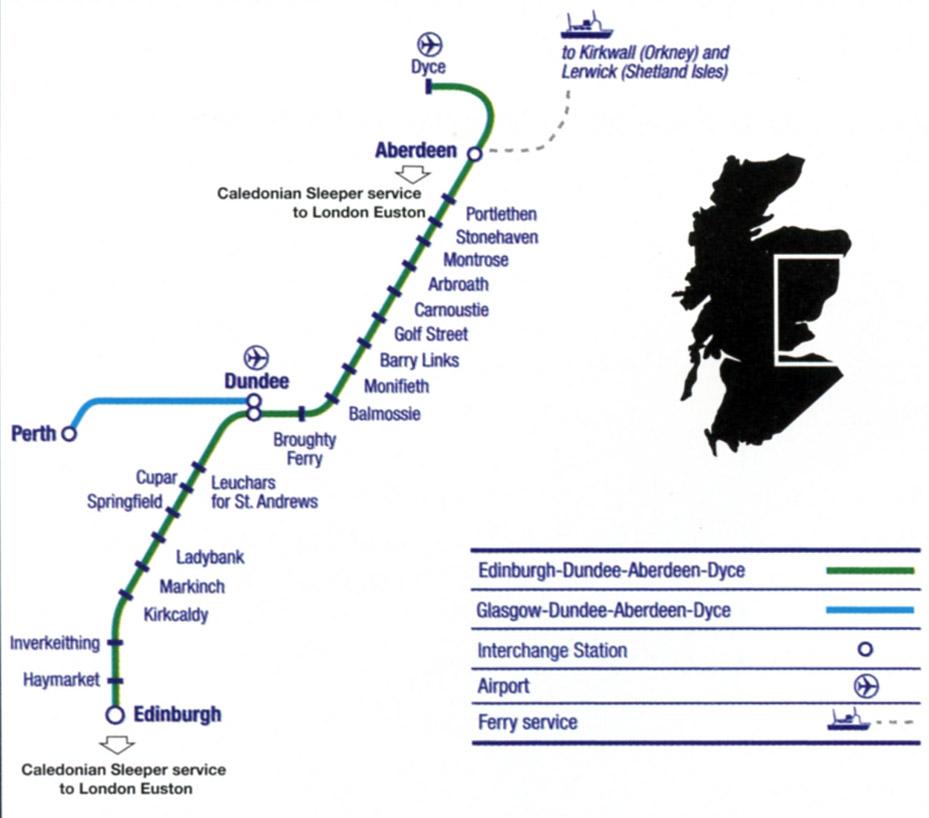Aberdeen To London Sleeper The Caledonian Sleeper Train
