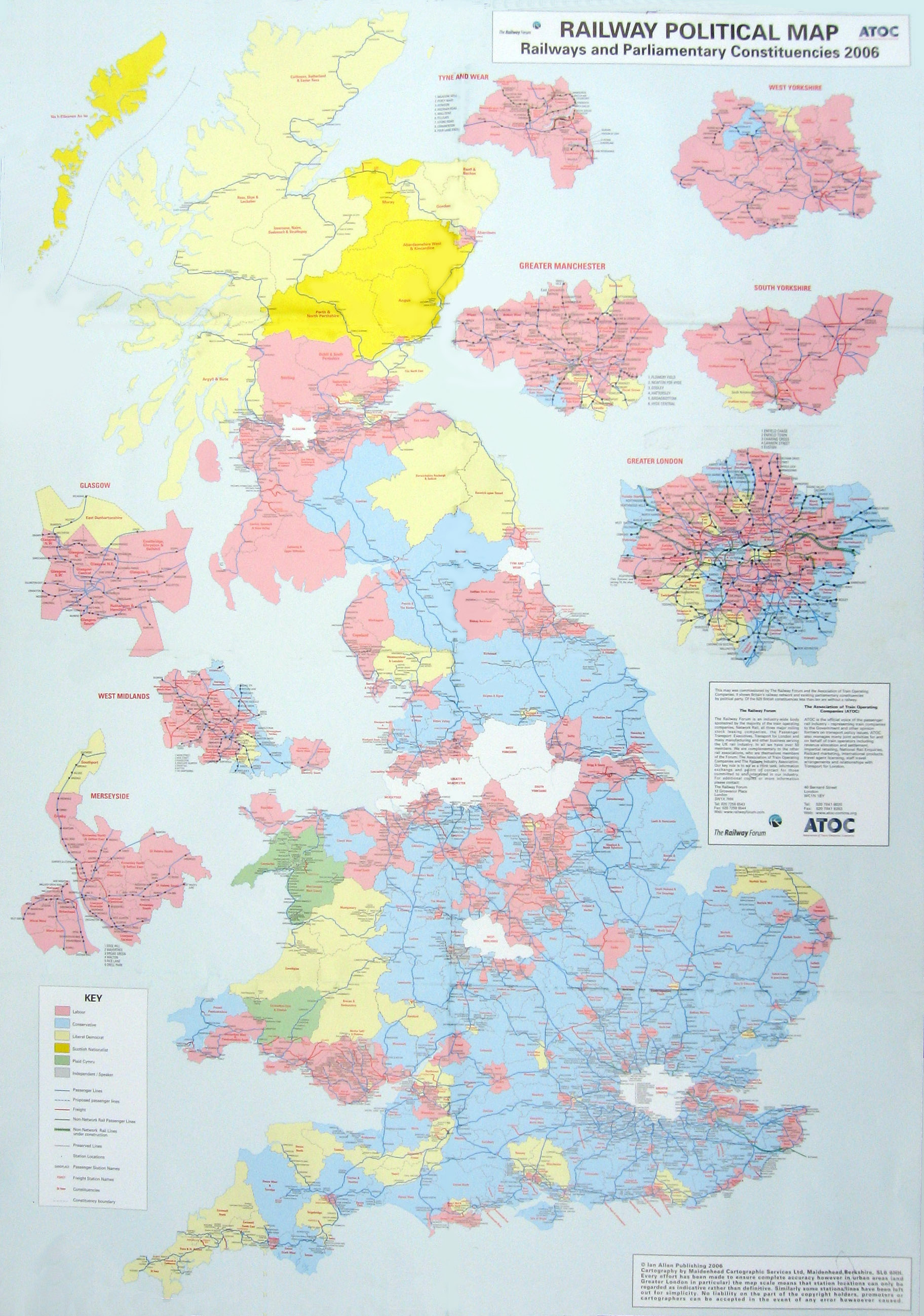 Political Map Of Uk.Ian Allen Political Map
