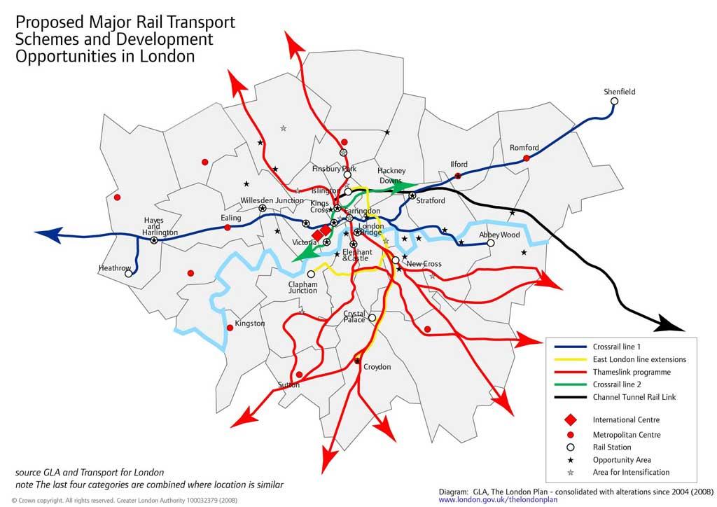 London south east – East London Uk Map