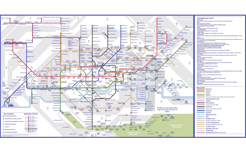 London Underground tube maps alternative