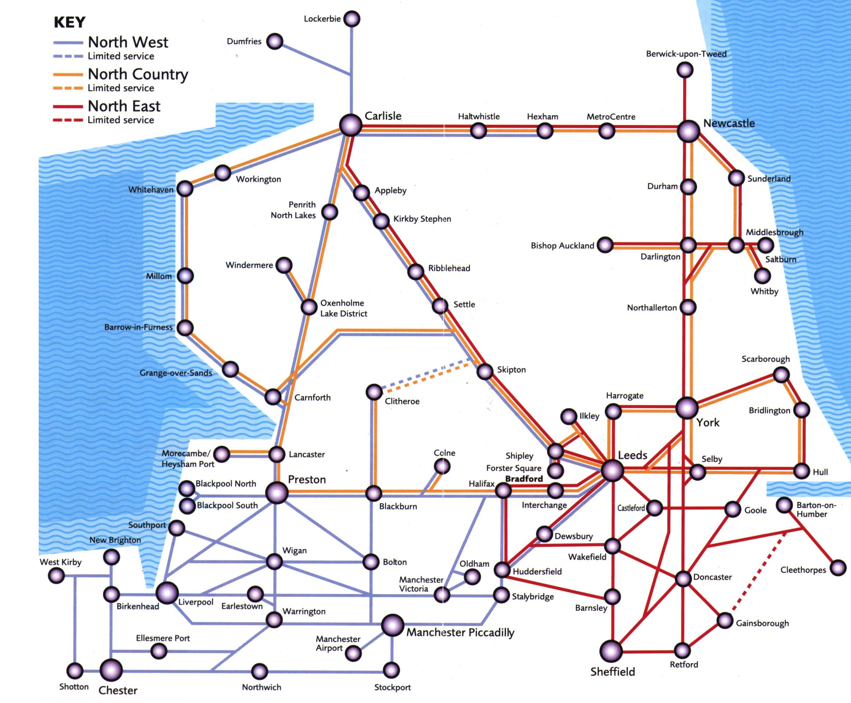 northern trains rail maps Northern Train Line Map northern train rail map northern train line uk
