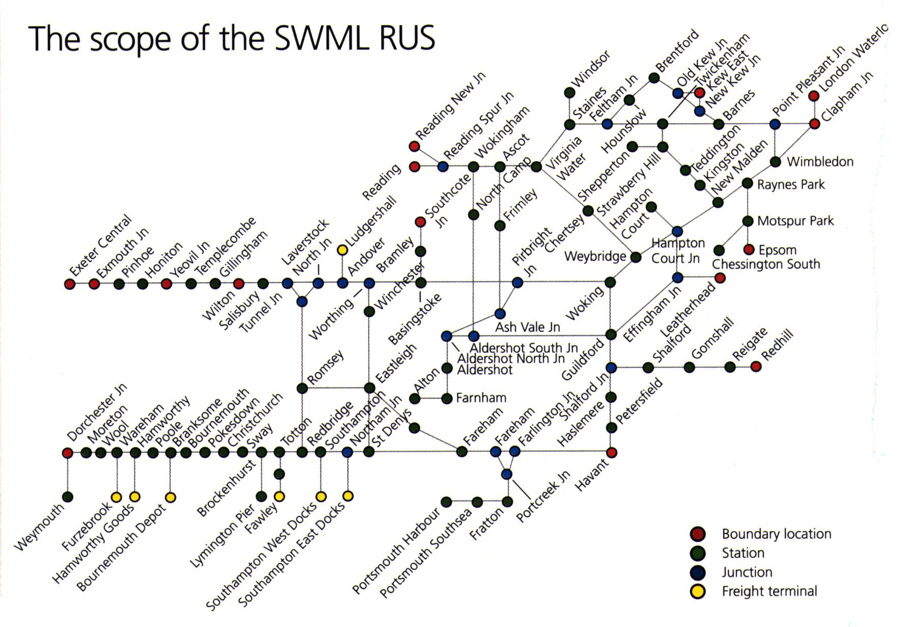 Virgin rail map south west