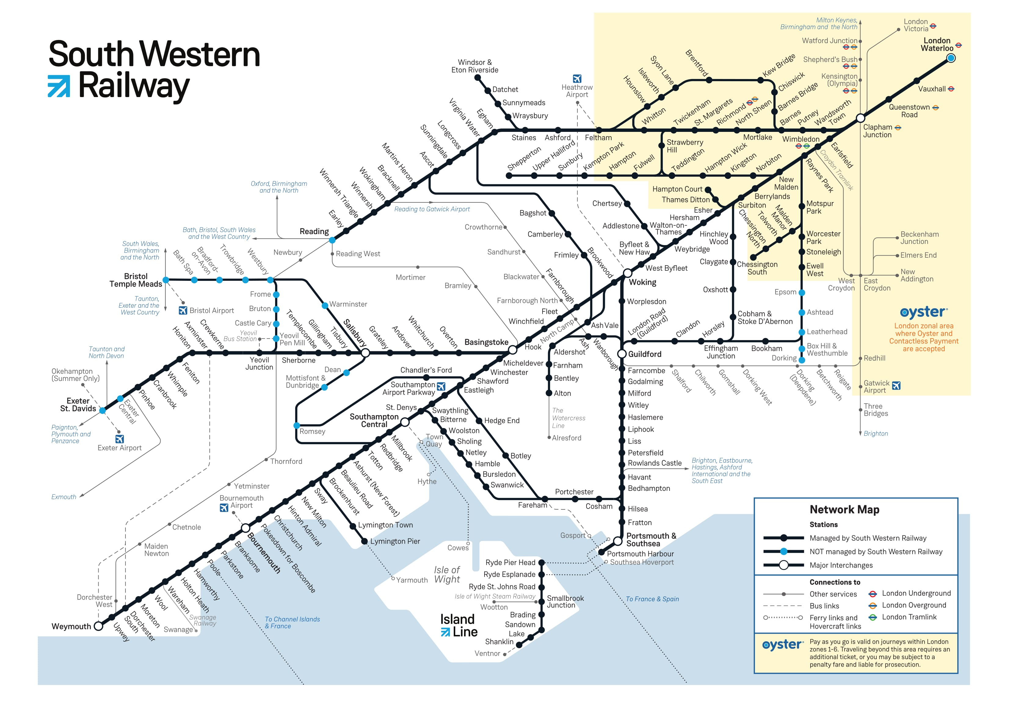 Subway Map Of Park Slope.South Western Train Rail Maps