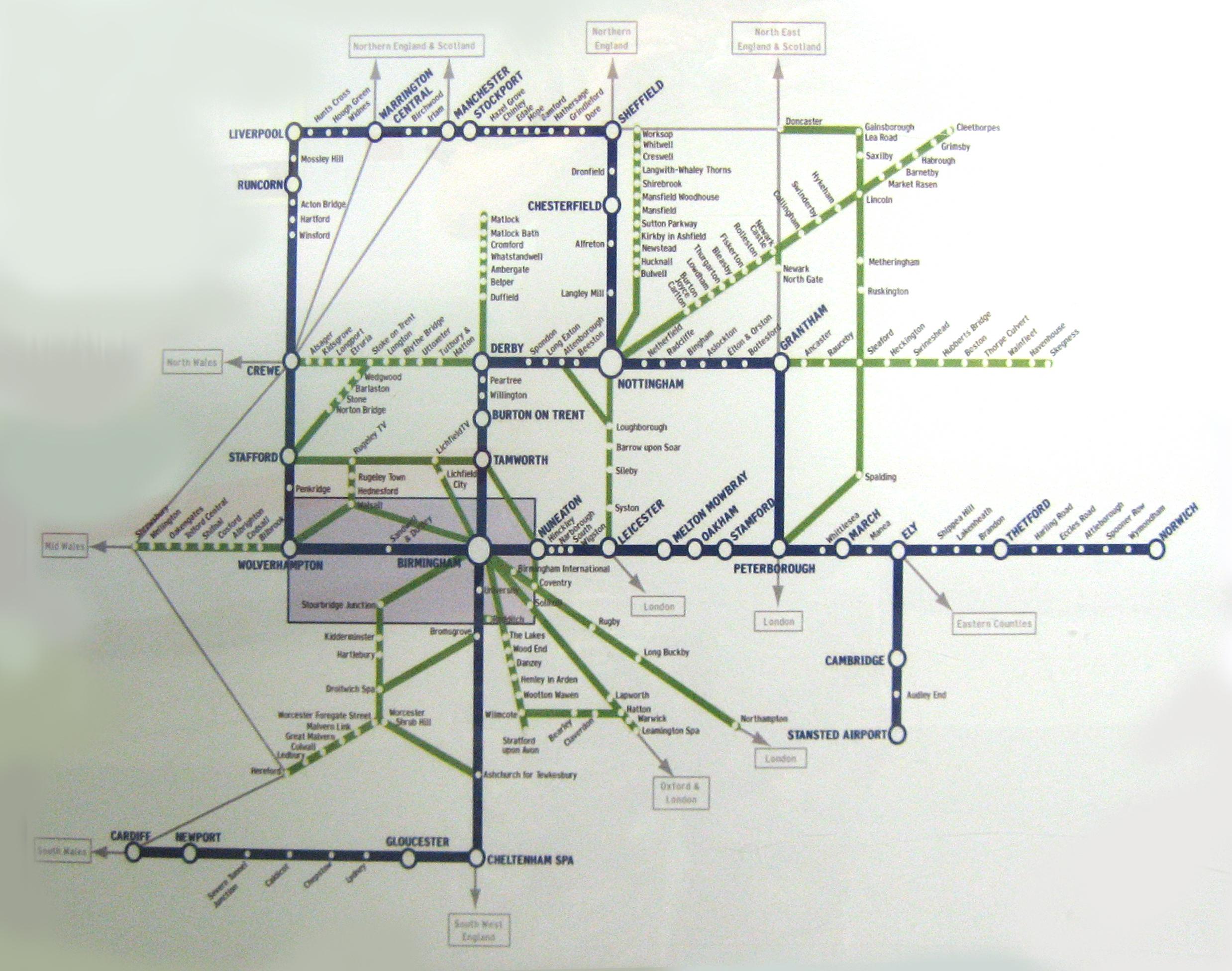 stratford upon avon oxford map