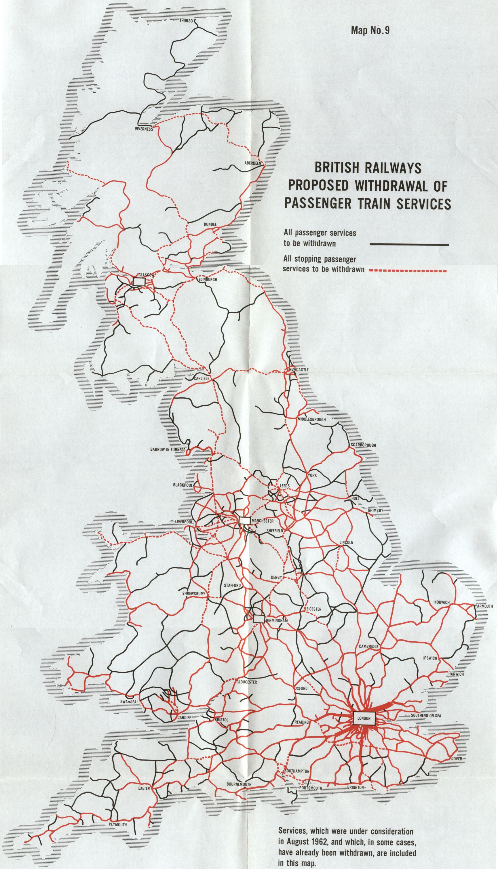beeching map