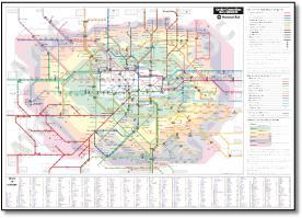 South east london map rail