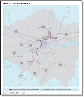 Elizabeth Line Crossrail Train Rail Maps