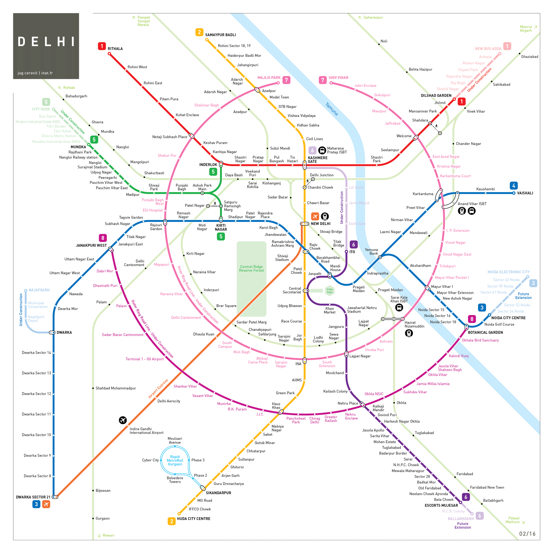 Railway Map Of India.India Train Rail Maps