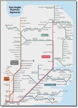 train lines map essex