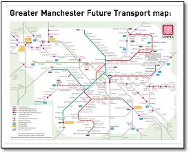 Greater Manchester Local Train Amp Metrolink Network Maps