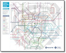 London Subway Map Pdf.London Tube And Rail Maps