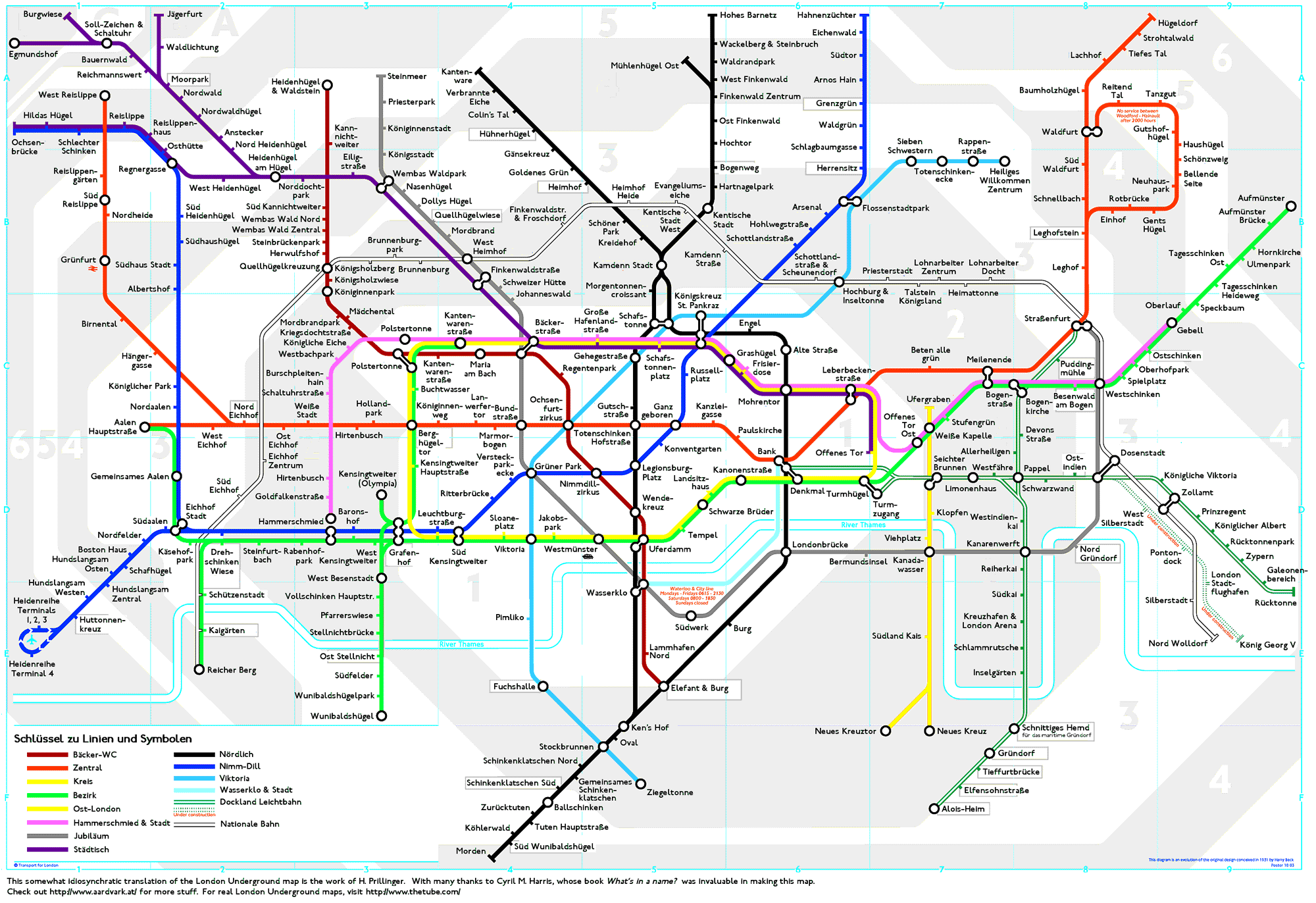 londonundergroundmapgerman london underground tube map