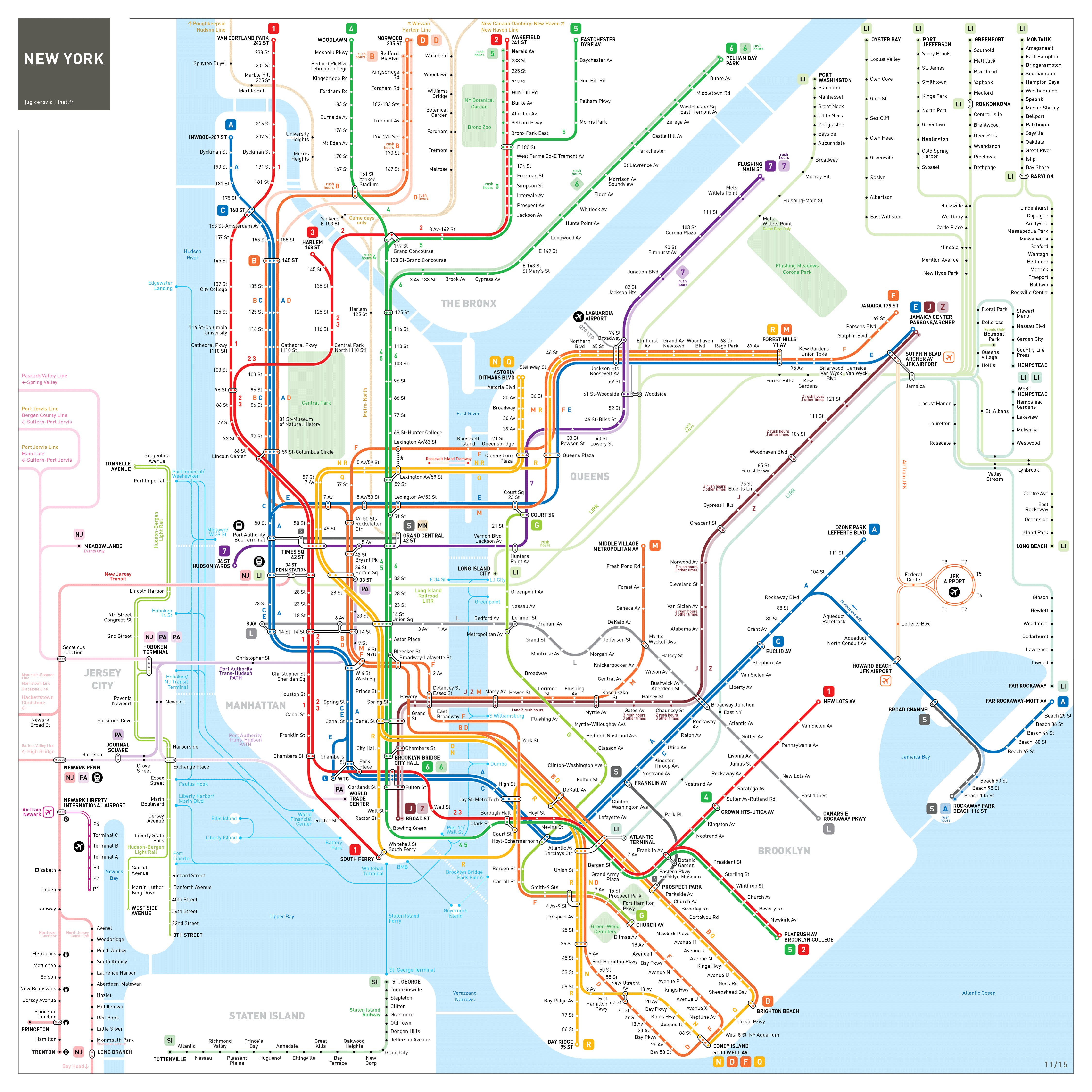 Our Maps America  Tracking Growth In The US National USA Rail - Nyc map usa