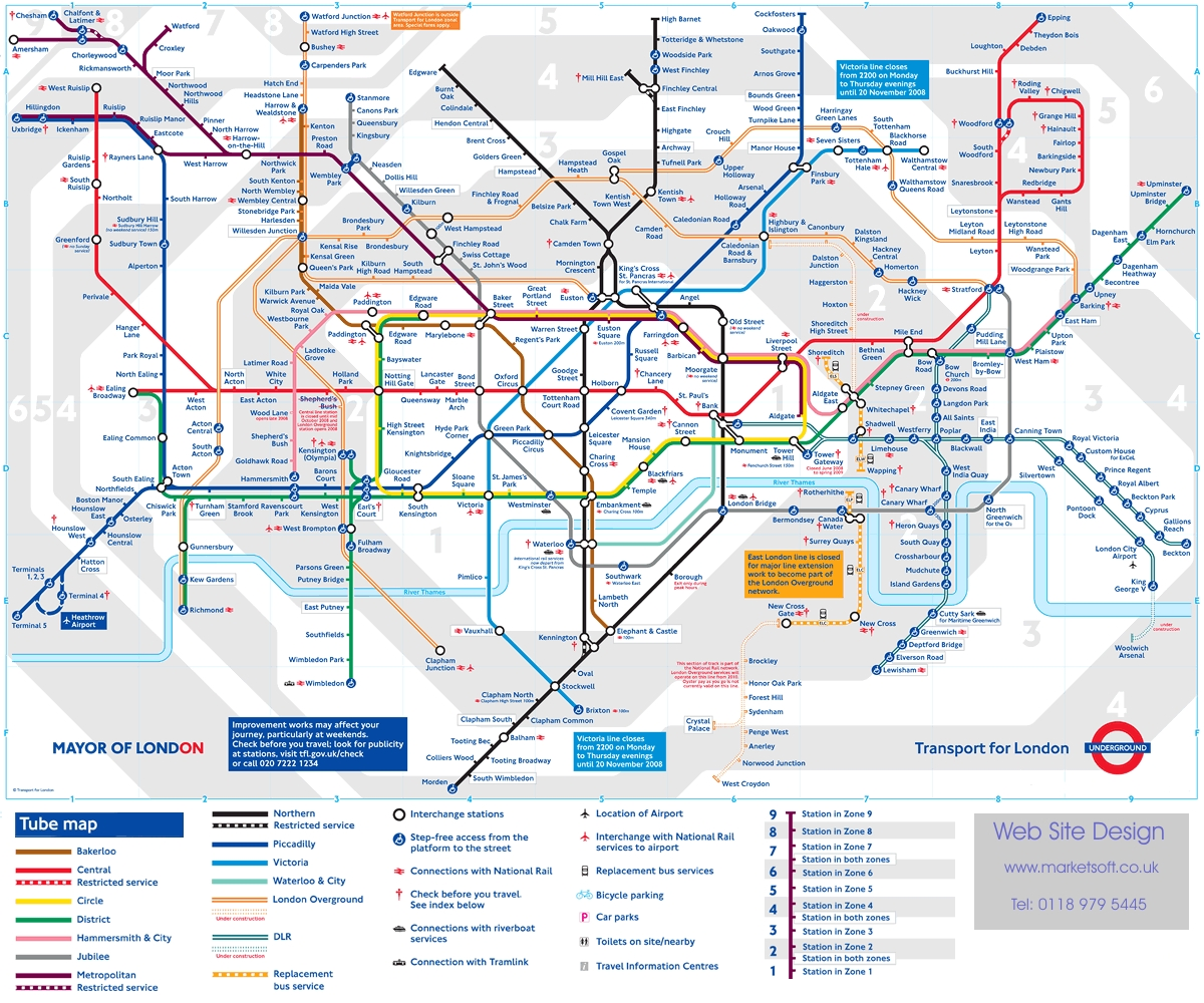 Docklands Light Railway Page SkyscraperCity - London dlr map
