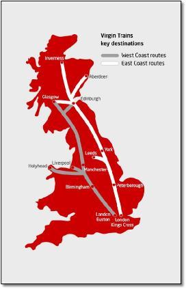 West Coast Main Line / Virgin Trains